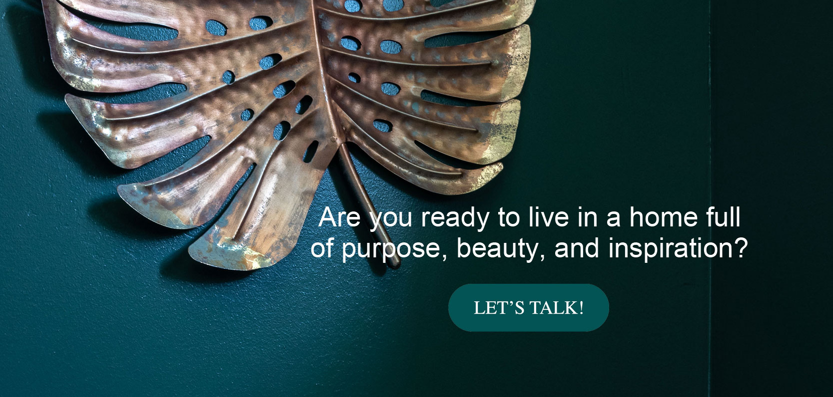 Are you ready to live in a home full of purpose, beauty, and inspiration?